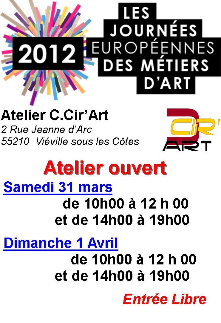 Journées Européennes des Métiers d'Art dans EXPOSITIONS PASSEES Image1