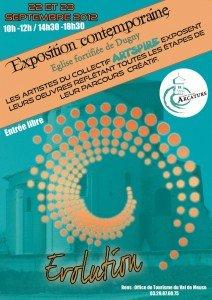 Expo à DUGNY (55) avec Artspire dans EXPOSITIONS PASSEES Affiche-pour-Dugny-212x300