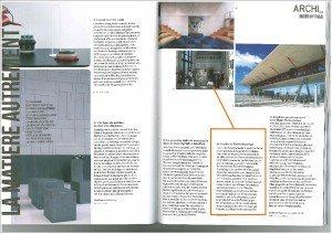 Article dans ARCHISTORM dans INFOS  DIVERSES article-archistorm-mars-20132-300x212