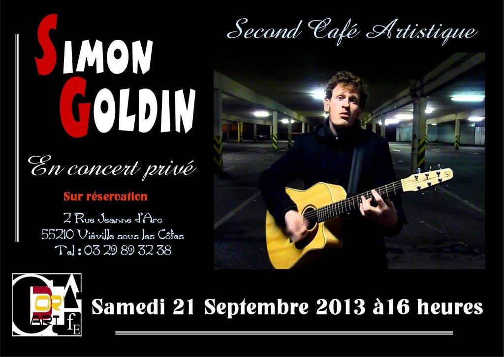 2° Café Artistique à l'atelier C.Cir'Art dans CCir'Art Café concert-simon-goldin